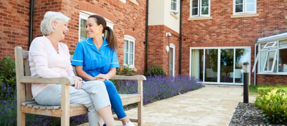 Wyposażenie domów opieki